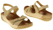 Womens Ladies Elisabeth Wedge Sandals Thumbnail 5