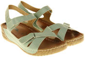 Womens Ladies Elisabeth Wedge Sandals Thumbnail 8