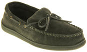 Mens Northwest Territory Leather Moccasin Slippers Thumbnail 2