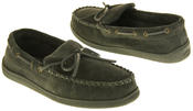 Mens Northwest Territory Leather Moccasin Slippers Thumbnail 5