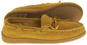 Mens Northwest Territory Leather Moccasin Slippers Thumbnail 7