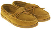 Mens Northwest Territory Leather Moccasin Slippers Thumbnail 8