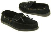 Mens Northwest Territory Leather Moccasin Slippers Thumbnail 12