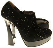 Womens Ladies Betsy Evening Heeled Fashion Sandals Thumbnail 4