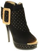 Womens Ladies Betsy Fashion Sandal High Heels Thumbnail 2