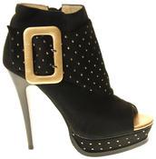 Womens Ladies Betsy Fashion Sandal High Heels Thumbnail 3