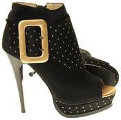 Womens Ladies Betsy Fashion Sandal High Heels Thumbnail 4