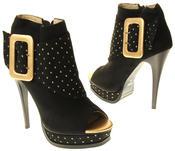 Womens Ladies Betsy Fashion Sandal High Heels Thumbnail 6