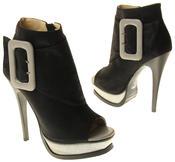 Womens Ladies Betsy Fashion Sandal High Heels Thumbnail 11