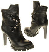 Womens Ladies Betsy synthetic leather Mid Calf Boots Thumbnail 6