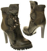 Womens Ladies Betsy synthetic leather Mid Calf Boots Thumbnail 11