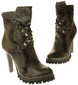 Womens Ladies Betsy synthetic leather Mid Calf Boots Thumbnail 12