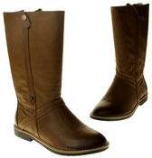 Womens Ladies Betsy Faux Leather Mid Calf Boots Thumbnail 7