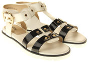 Womens Ladies Betsy Synthetic Leather Sandals Thumbnail 5