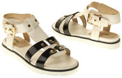 Womens Ladies Betsy Synthetic Leather Sandals Thumbnail 6