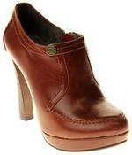 Womens Ladies Faux Leather High Heel Court Shoes Thumbnail 7