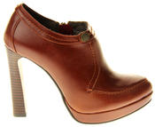 Womens Ladies Faux Leather High Heel Court Shoes Thumbnail 8