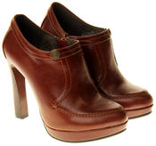 Womens Ladies Faux Leather High Heel Court Shoes Thumbnail 10