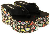 Womens Ladies Rocket Dog Flip Flops Platform Shoes Thumbnail 5