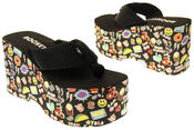 Womens Ladies Rocket Dog Flip Flops Platform Shoes Thumbnail 6