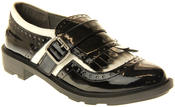Womens Ladies Rocket Dog Faux Patent Leather Loafers Thumbnail 2