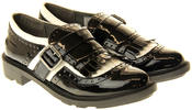 Womens Ladies Rocket Dog Faux Patent Leather Loafers Thumbnail 5