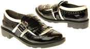 Womens Ladies Rocket Dog Faux Patent Leather Loafers Thumbnail 6