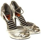 Womens Ladies Rocket Dog Silver High Heel Sandals Thumbnail 5