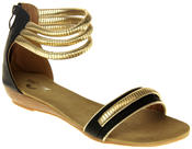 Womens Ladies Betsy Gladiator Sandals Thumbnail 2