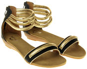 Womens Ladies Betsy Gladiator Sandals Thumbnail 5
