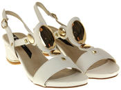 Womens Ladies Keddo Faux Leather Studded Fashion Sandals Thumbnail 5