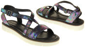 Womens Ladies Keddo Leather Summer Sandals Thumbnail 6