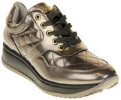 Womens Ladies Keddo Leather Trainers Thumbnail 2