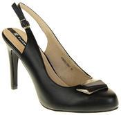 Womens Ladies Elisabeth Faux Leather High Heels Thumbnail 7