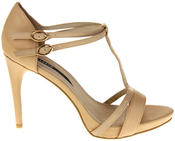 Womens Ladies Elisabeth Faux Leather Strappy High Heels Thumbnail 3