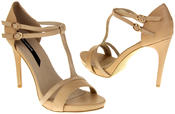 Womens Ladies Elisabeth Faux Leather Strappy High Heels Thumbnail 6