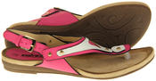 Womens Ladies Betsy Faux Leather Sandals Thumbnail 4