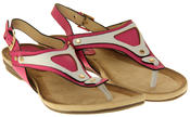 Womens Ladies Betsy Faux Leather Sandals Thumbnail 5