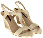 Womens Ladies Elisabeth Hidden Wedge Fashion Sandals Thumbnail 5