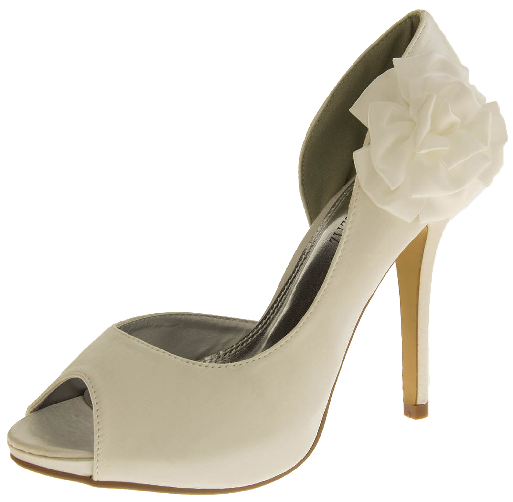fancy wedding shoes satin wedding pumps formal shoes womens bridal 4048