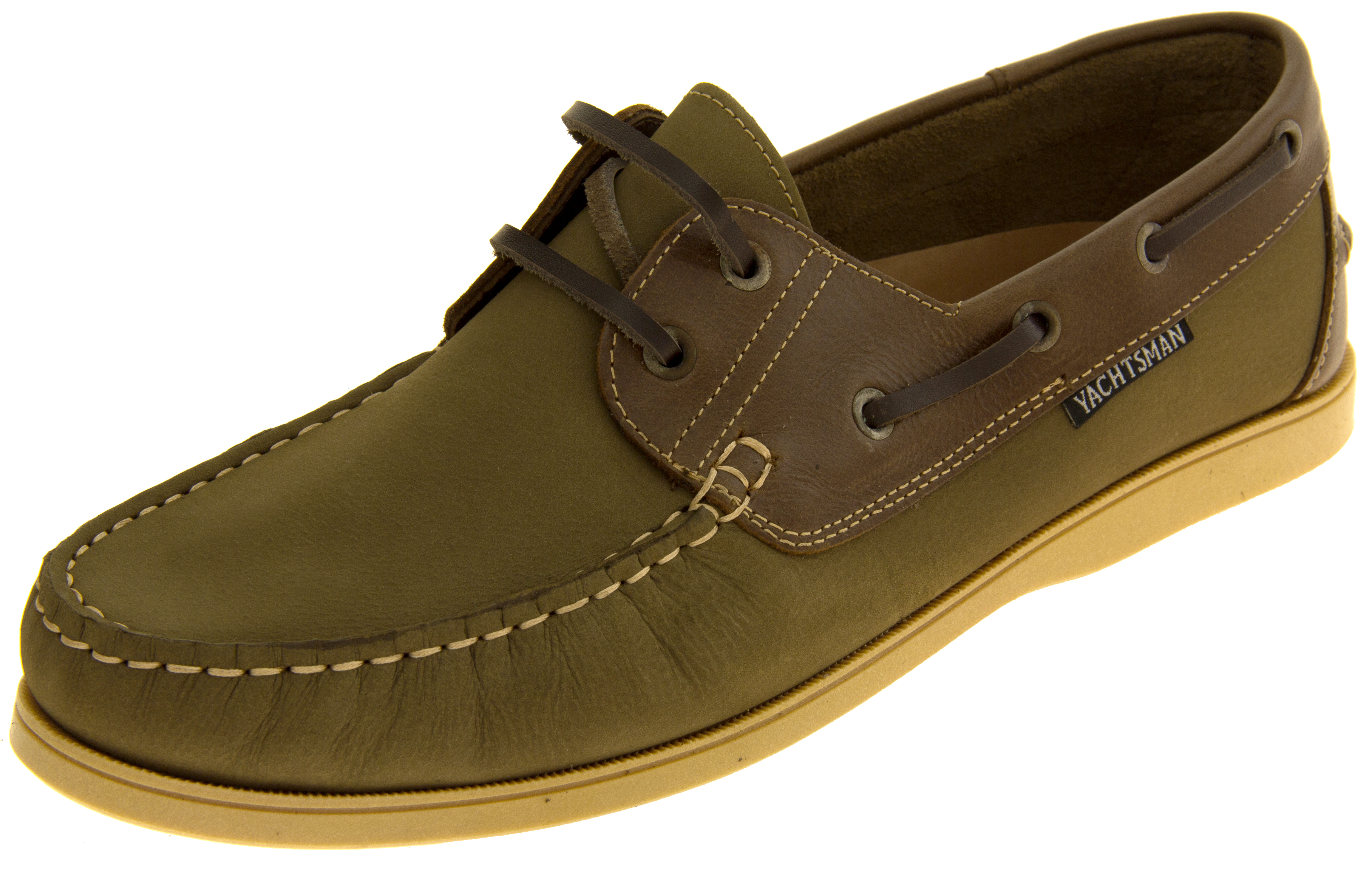 herren halbschuhe herren halbschuhe mens yachtsman leather deck boat shoes 2 colours  herren halbschuhe mens yachtsman