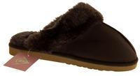 Womens DUNLOP Faux Fur Lined Slipper Mules Thumbnail 8
