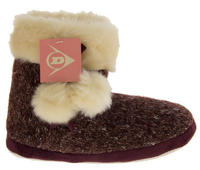 Ladies DUNLOP Faux Fur Lined Slipper Boots Thumbnail 2