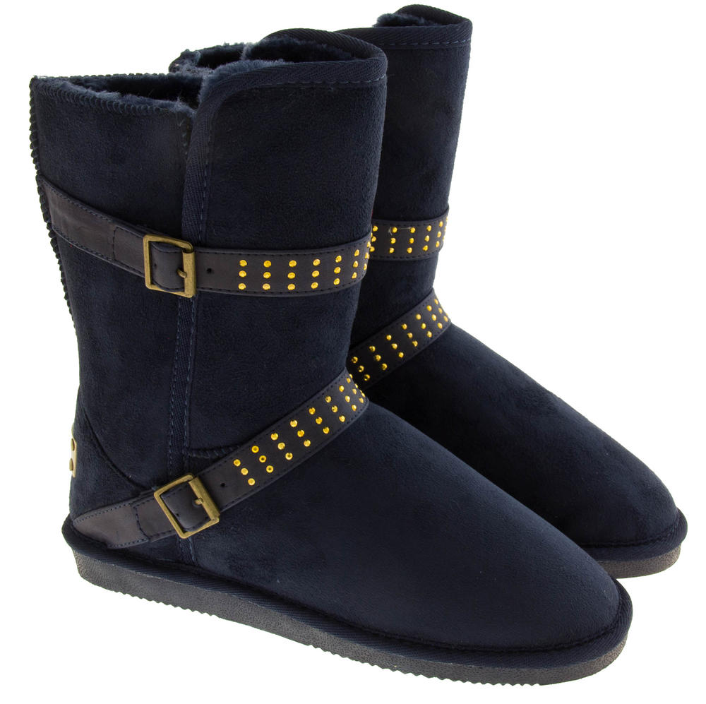 Ladies RED ROCK Faux Fur Lined Winter Boots | Womens, Mens ...