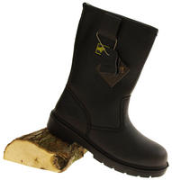 Mens NORTHWEST TERRITORY Labrador Leather Rigger Boots Thumbnail 5