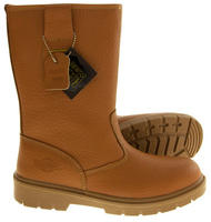 Mens NORTHWEST TERRITORY Labrador Leather Rigger Boots Thumbnail 9