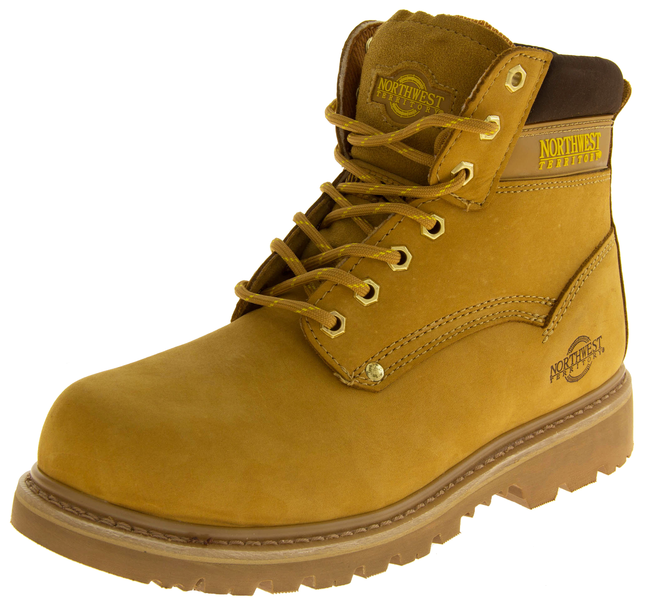 Mens NORTHWEST TERRITORY QUEBEC Leather Safety Boots