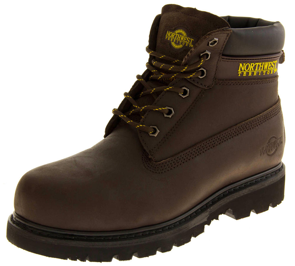 Mens NORTHWEST TERRITORY WATSON Leather Safety Boots