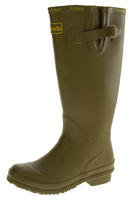 Womens WETLANDS Green Knee High Wellington Boots Thumbnail 1