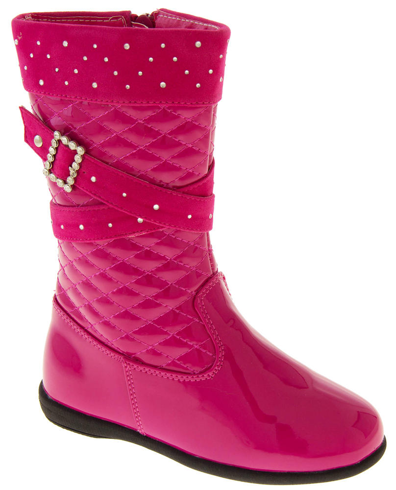 908aa6a4a7cc Girls Disco Party Low Heel Fashion Boots Thumbnail 8. RSB London. 19214972